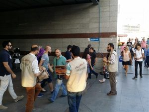 Genç Aktivistler - Yolda Kalanlara İftariyelik Dağıtımı (7)