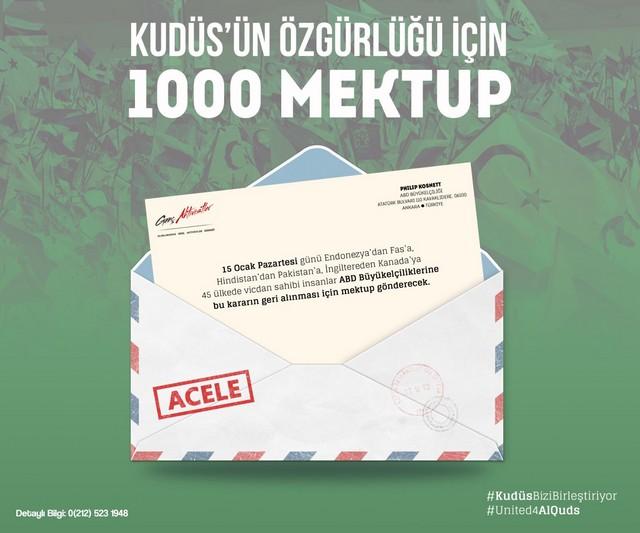 1000 Mektup