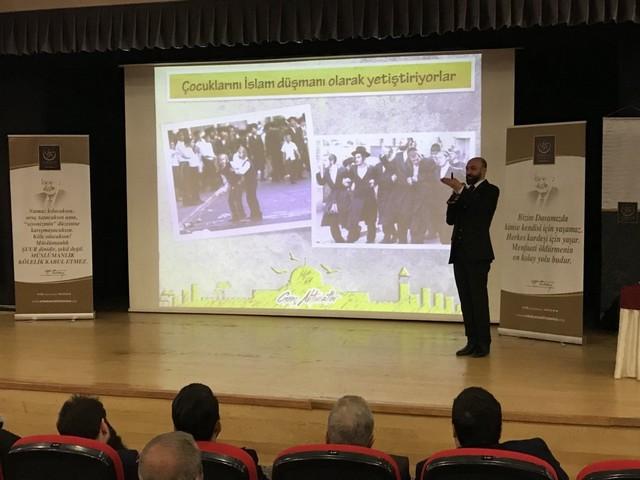 """Bahçelievler'de """"Kudüs'te neler Oluyor"""" Konferansı (2)"""
