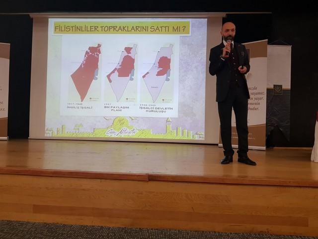 """Bahçelievler'de """"Kudüs'te neler Oluyor"""" Konferansı (8)"""