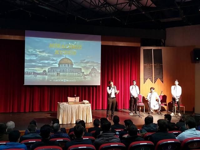 """Üsküdarda """"Miracımız Kudüs """" Konferansı (1)"""