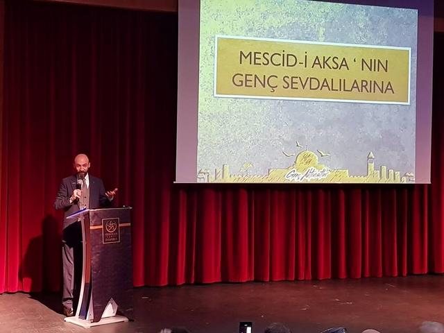 """Üsküdarda """"Miracımız Kudüs """" Konferansı (5)"""